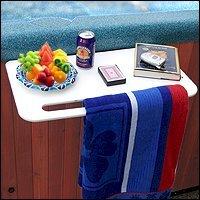 Amazon Com Hot Tub Caddy Shelf Shower Caddies Patio