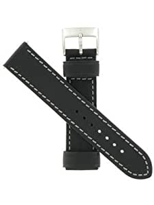 Swiss Army Brand 21mm-Leather-Black