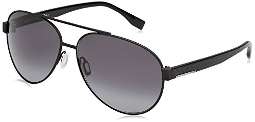- Boss Hugo Boss 0648/F/S Sunglasses Matte Black/Gray Gradient
