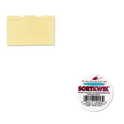 KITLEE10053UNV12113 - Value Kit - Lee Sortkwik Fingertip Moisteners (LEE10053) and Universal File Folders (UNV12113) by Lee