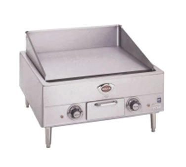 Wells G-13 Griddle countertop electric 22''W x 18''D grill by Wells