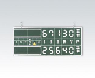 エバニューEVERNEW 硬式ソフト兼用テニス得点板 EVN-EKE915 B00AG5V0NK