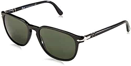 1dc74c2634 Persol PO3019S Sunglasses Black Crystal Green 55   Carekit Bundle