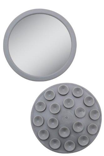 EZ-Grip - Petit miroir grossissant 12x - Couleur: Gris Zadro Products Inc. EZG12G