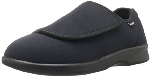 Propet Heren Cushn Foot Slipper Black 11 X (3e) & Oxy Cleaner Bundel