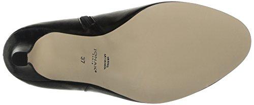 JONAK 088 10713cu H4, Women's Biker Boots Black (Cuir Noir)