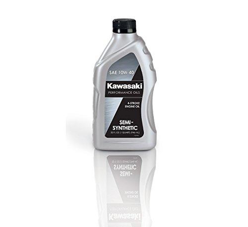 Kawasaki 4-Stroke Semi Synthetic Motorcycle Oil 10W40 1 Quart K61021-206A