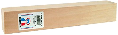 Block Basswood Carving (Midwest Products 4421 Micro-Cut Quality Basswood Block, 2 by 3 by 12-Inch)