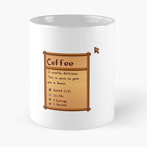 Cute Gaming Video Games Farming Farm Pixel Art Game Stardewvalley Stardew Valley Mug Coffee Mugs Best Personalized Gifts