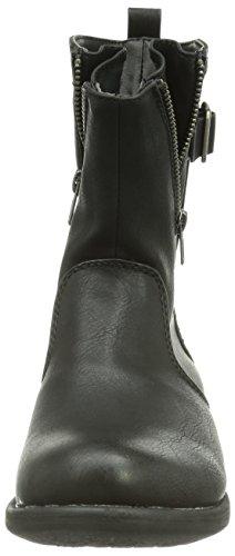 Rieker 97251-00 - botas de caño bajo de material sintético mujer Negro (schwarz / 00)