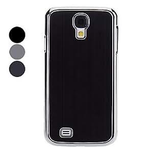 conseguir Metal nuevo estuche protector duro para el Samsung Galaxy S4 i9500 (colores surtidos) , Color Plata
