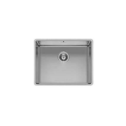 Pyramis 101027901 Stainless Steel Kitchen Sink with Single Bowl from Astris, Grey, 50 x 40 x 20 cm - - Amazon.com
