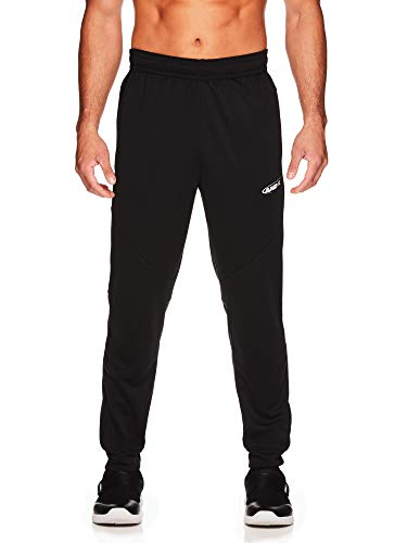 AND1 Men's Tricot Jogger Pants - Basketball Running & Jogging Sweatpants w/Pockets - Black, XX-Large ()