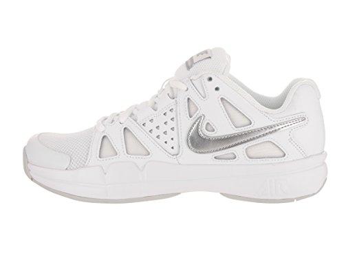 NIKE Tennis Pure Vapor Shoe Advantage Silver Women's Mtlc Platinum Air White wAFqprgwn
