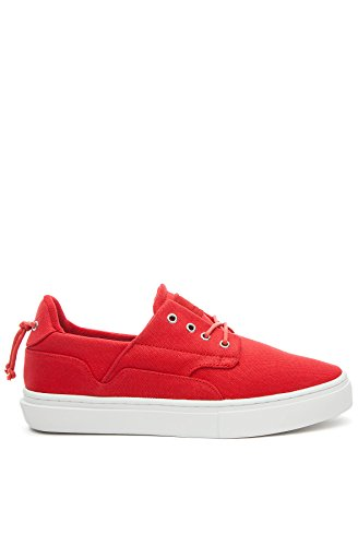 Clear Weather Eighty Low Top Sneaker in Red