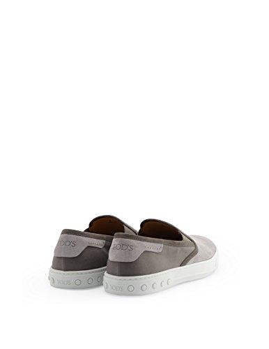 Nuevo Tod's Slip on Sneakers Uomo XXM0XY0O800FVD1J11 Camoscio Grigio Grandes Ofertas Salida kluzDD4FPE