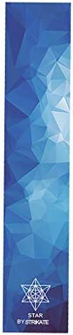 menolana 48''x10'' Skateboard Longboard Griptape Deck Sandpaper Scooter Grip Tape Sticke