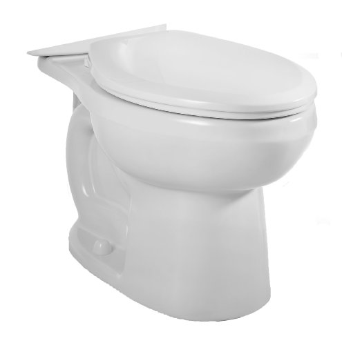 (American Standard 3706.216.020 H2Option Siphonic Dual Flush Elongated Toilet Bowl, White (Bowl Only))