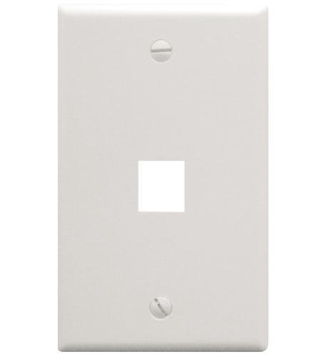 (ICC IC107F01WH - 1Port Face White by ICC)