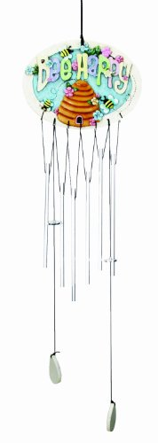 Spoontiques Bee Happy Wind Chime For Sale