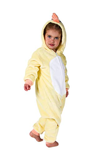 Jammers Baby Infant Toddler Onesie Animal Costume - Chick (18-24 Months) -