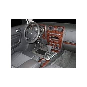 Dash Trim Kit for HUMMER H3 06 07 08 09 10 carbon fiber wood aluminum