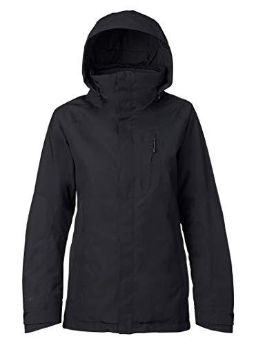 Burton Women's AK Gore-Tex Embark Jacket, Dry Dye Black, Large Burton 2l Gore Tex Jacket