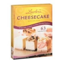 Lawlers Desserts Miniature Cheesecake - Variety, 3/4 Ounce - 63 per pack -- 4 packs per case.