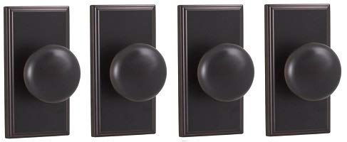 - Weslock 03710I1I1SL20 Impresa Knob, Oil-Rubbed Bronze (4-(Pack))