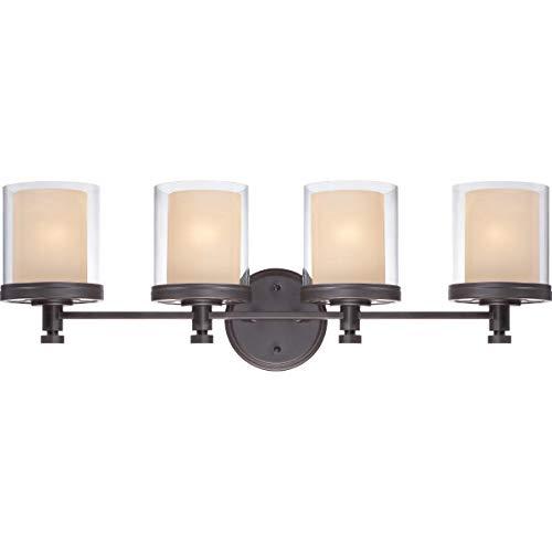 (Nuvo Lighting 60/4544 Four Light Vanity Bronze/Dark)