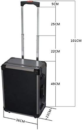LHT 多機能トロリーケースアルミニウムツールボックス計器ケースアルミフライトケース ツールボックス