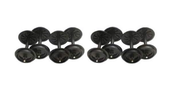 Zenner 8 Juego de ruedas de plástico 30mm SET DE RUEDAS ESCALA G ...