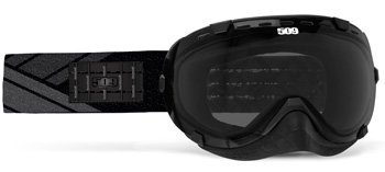 509 Aviator Snow Snowmobile Goggles - Tracks - Smoke Tint Lens by 509
