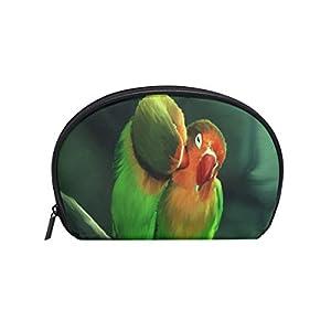 Cosmetic Bag Cute Love Bird Girls Makeup Organizer Box Lazy Toiletry Case