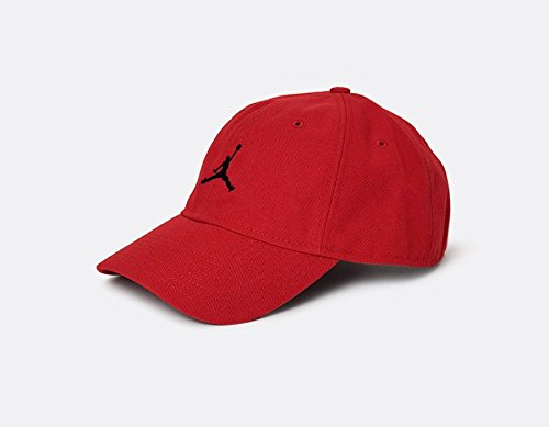 4874b763c573 Galleon - Nike Mens Air Jordan Floppy H86 Dad Hat Gym Red Black 847143-121