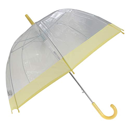 X-Brella Pastel Cage Umbrella (One Size) (Transparent/Yellow)