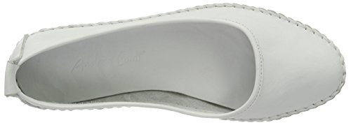 Andrea Conti Women's 0021518 Loafers White (Weiß 001) QWc9f