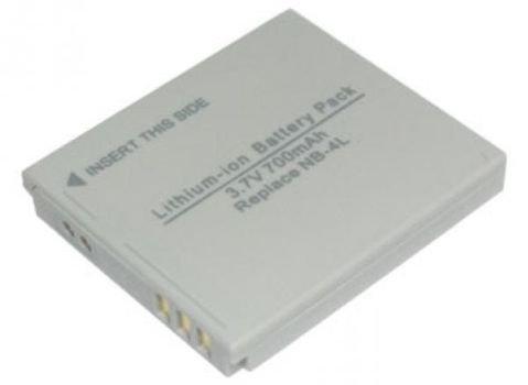 700mAh Canon NB-4L Battery for IXUS 115 HS, IXUS 130, IXUS 220 HS, IXUS 230 HS, IXUS 255 HS, IXY 210 IS, IXY 210F, IXY 400F, IXY 410F, IXY 510 IS, IXY 600F, IXY 610F
