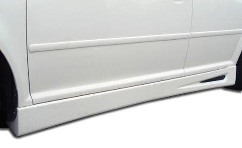 Duraflex ED-VJL-420 Velocity Side Skirts Rocker Panels - 2 Piece Body Kit - Fits Volkswagen Jetta 1999-2004