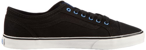 Vans Devan (Anodized) black/blue VL985FA - Zapatillas de tela para mujer Negro (Schwarz ((Anodized) black/blue))