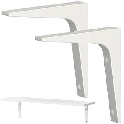 Stupendous Ikea Shelf Bracket Pack Of 2 White Amazon Ca Tools Download Free Architecture Designs Scobabritishbridgeorg