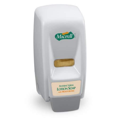 Gojo 9721-12 MICRELL 800 Series Bag-in-Box Dispenser; Push-Style Dispenser
