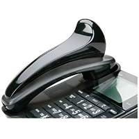 AbilityOne - Telephone Shoulder Rest - Black, Curved Shape 7520-01-592-3859