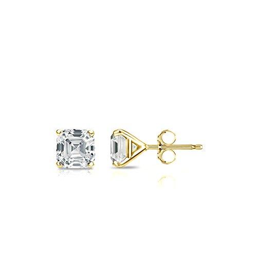 0.50 Ct Asscher Diamond - 8
