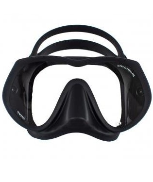 Dive Rite UltraClear Frameless Mask, Black ()
