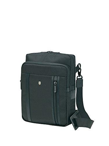 Victorinox Werks Professional 2.0 Crossbody Laptop Bag Messenger, Black, One Size (Victorinox Laptop Messenger Bag)