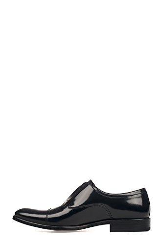 Seboys Mannen P3089blk Zwart Lederen Mocassins