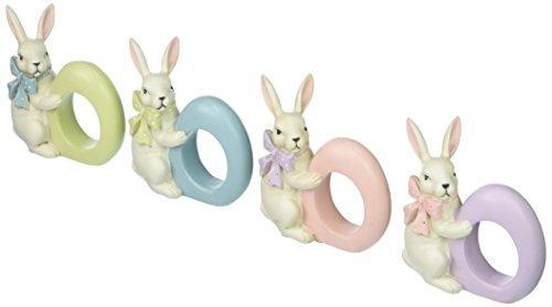 Easter Bunny Rabbit Napkin Rings - Set of (Egg Ring Set)