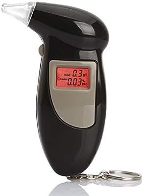 Tree-on-Life Probador Digital de Alcohol en Aliento con Alerta Audible Conducción Segura con Llavero Detector de Alcohol de Respuesta rápida ...