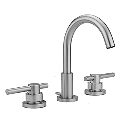 Jaclo 8880-T638-PCH Contemporary Widespread Faucet with Lever with Peg Handle Polished Chrome